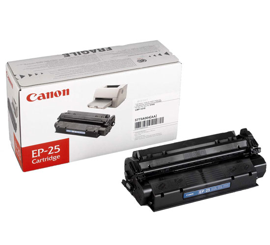 Canon EP25 black laser cartridge