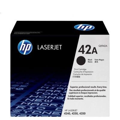 HP 42A Black Laser Cartridge