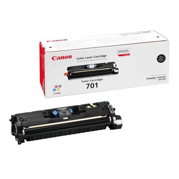 Canon 701 black laser cartridge