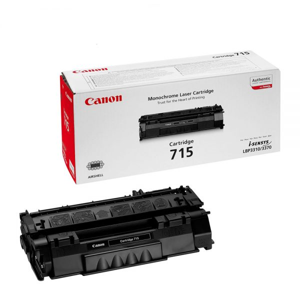 Canon 715 black laser toner cartridge