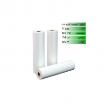 رول لمینیت گرم ۱۰۰ میکرون عرض ۱۰۴