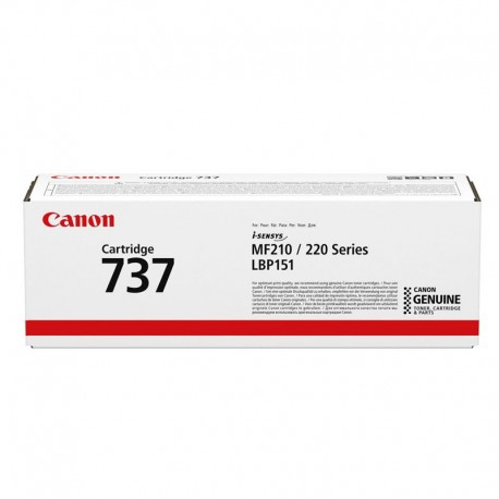 Canon 737 black laser cartridge