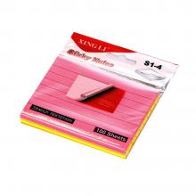 کاغذ یادداشت خط دار چسب  دار بسته 400 عددی