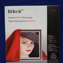 کاغذ عکس ابریشمی A4 به وزن 260 گرم Bitech