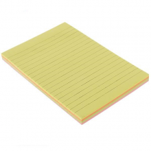 کاغذ یادداشت چسب دار 9205 بسته 100 عددی فنس