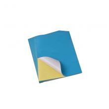 کاغذپشت چسب دار سایز A4 آبی