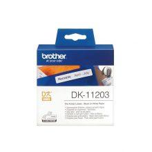 برچسب پرینتر لیبل زن مدل DK-11203 برادر
