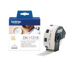 برچسب پرینتر لیبل زن مدل DK-11218 برادر