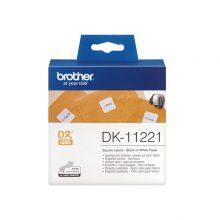 برچسب پرینتر لیبل زن مدل DK-11221 برادر