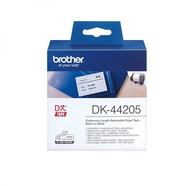 برچسب پرینتر لیبل زن مدل DK-44205 برادر