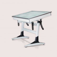میز نور پایه قایقی ۷۰×۵۰ شیدکو
