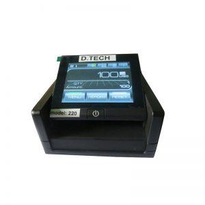 دستگاه تشخیص اصالت اسکناس مدل 220 دیتک