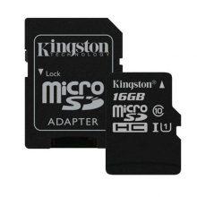 کارت حافظه microSDHC مدل Canvas Select ظرفیت ۱۶ گیگابایت کینگستون