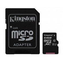 کارت حافظه microSDHC مدل Canvas Select  ظرفیت 64 گیگابایت کینگستون