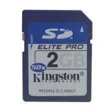 کارت حافظه SDمدل Elite-PRO ظرفیت 2 گیگابایت کینگستون