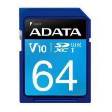 کارت حافظه SDXC  مدل Premier V10 ظرفیت 64 گیگابایت ای دیتا