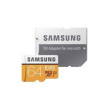 کارت حافظه microSDXC مدل Evo  ظرفیت 64 گیگابایت سامسونگ