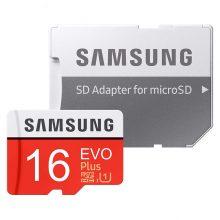 کارت حافظه microSDHC مدل Evo Plusظرفیت 16 گیگابایت سامسونگ