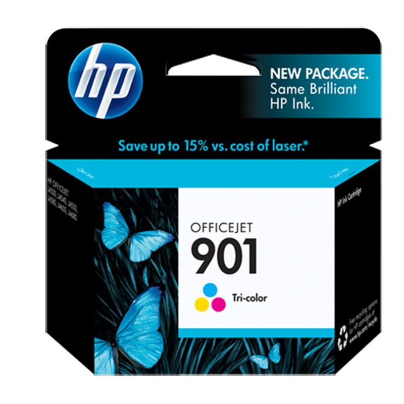 کارتریج پرینتر مدل ۹۰۱ رنگی اچ پی