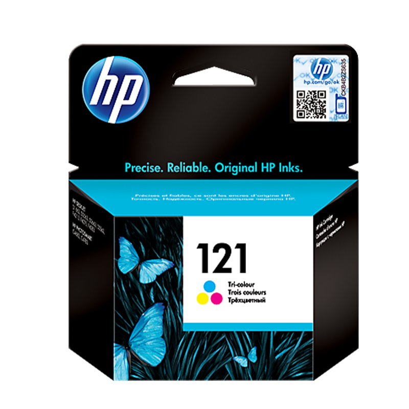 کارتریج پرینتر مدل ۱۲۱ رنگی ر اچ پی