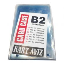 طلق کارت سینه افقی A2 بسته 50 عددی