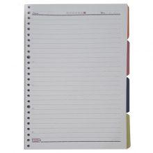 کاغذ کلاسوری کد ۱۲ بسته ۱۰۰ عددی تکنو