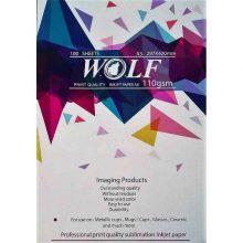 کاغذ سابلیمیشن 100 برگی A3 – Wolf وولف