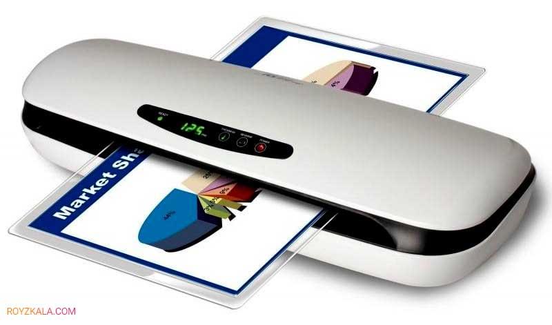 انواع دستگاه پرس کارت و لمینتور طلق پرس