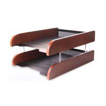 کازیه دو طبقه چوب و فلز