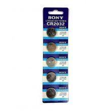 باتری سکه ای مدل CR2032 سونی