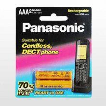 باتری نیم قلمی قابل شارژ BK-4LDAW/2BT بسته 2 عددی پاناسونیک