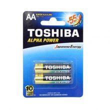 باتری قلمی سوپر آلکالاین Alpha Power بسته 4 عددی توشیبا