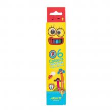مداد رنگی ۶ رنگ آریا