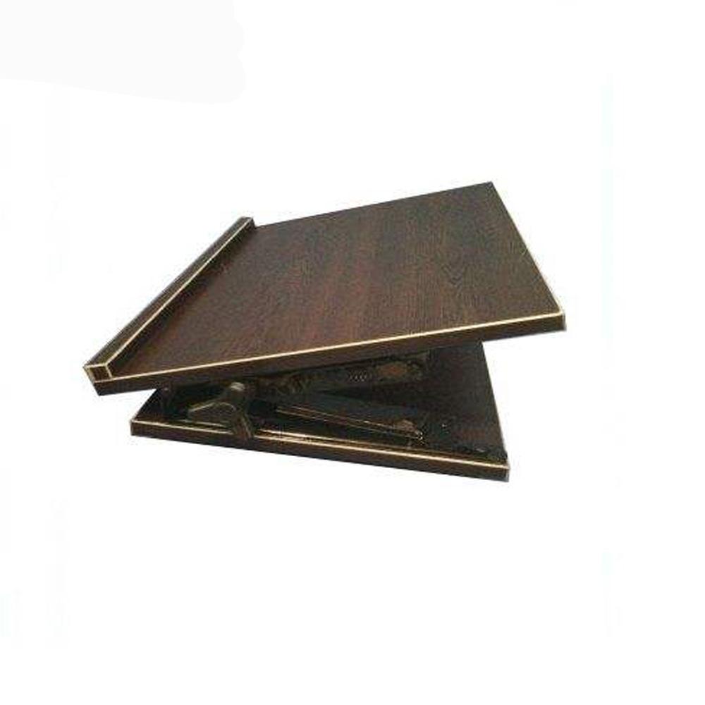 کتابیار چوبی کلاسیک قهوه ای