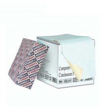 کاغذ کاربن لس فرم پیوسته 80 ستونی دو نسخه سه قسمتی دیبا