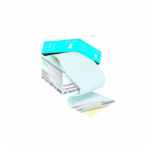 کاغذ کاربن لس 80 ستونی چهار نسخه سه قسمتی