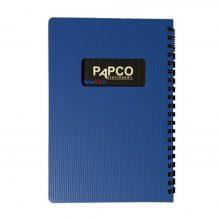 دفتر یادداشت ۱۰۰ برگ متالیک پاپکو