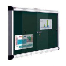 تابلو اعلانات شیشه ای 90×150 شیدکو
