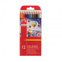 مداد رنگی ۱۲ رنگ مدل Hobby کارن داش