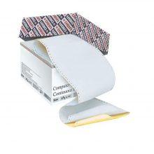 کاغذ کاربن لس فرم پیوسته ۸۰ ستونی چهار نسخه دیبا