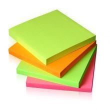 کاغذ یادداشت 7×7 چسب دار 100 برگ